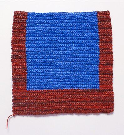 crochet paint art