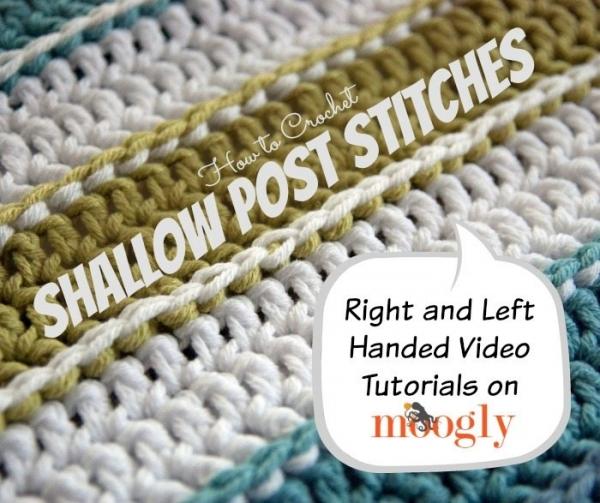 crochet post stitches