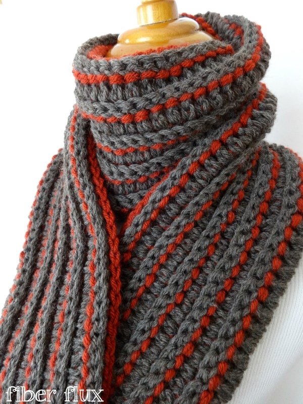 Crocheting Scarf : crochet scarf pattern