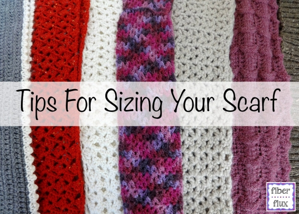 crochet scarf tips