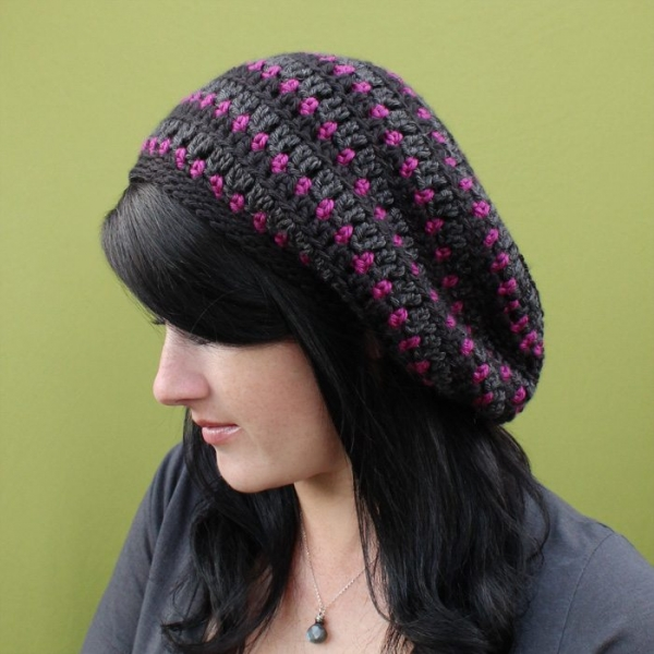 crochet slouch hat pattern for sale