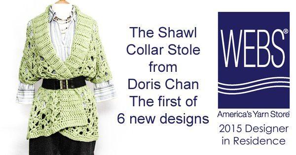 crochet stole pattern