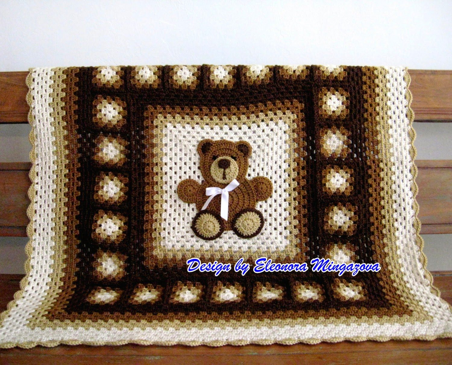 Free Teddy Bear Crochet Afghan Pattern : crochet teddy bear blanket pattern