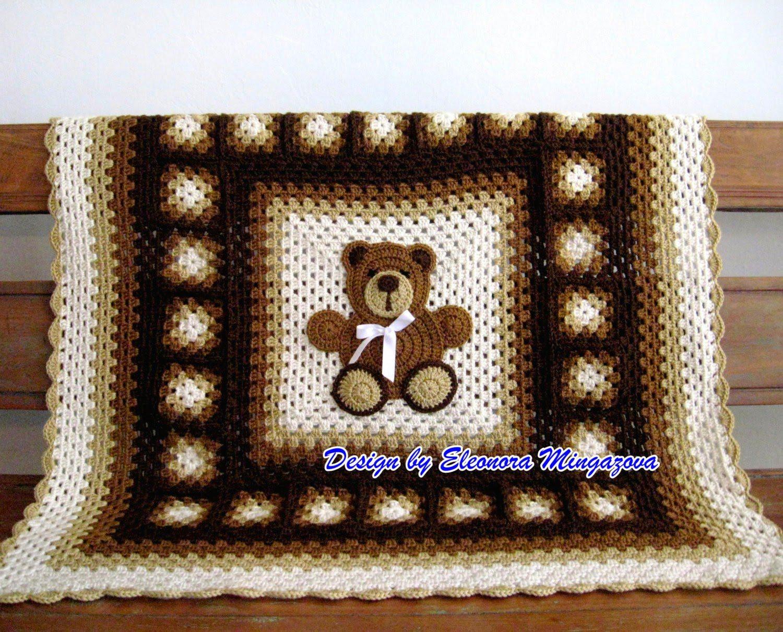 Free Teddy Bear Crochet Afghan Pattern : crochet teddy bear blanket pattern