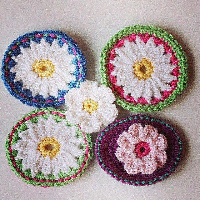 crochetgirl99 crochet flower