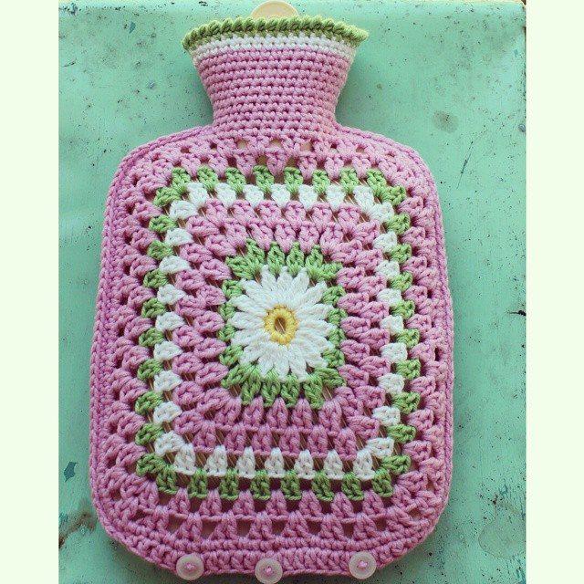 crochetgirl99 crochet hot water bottle