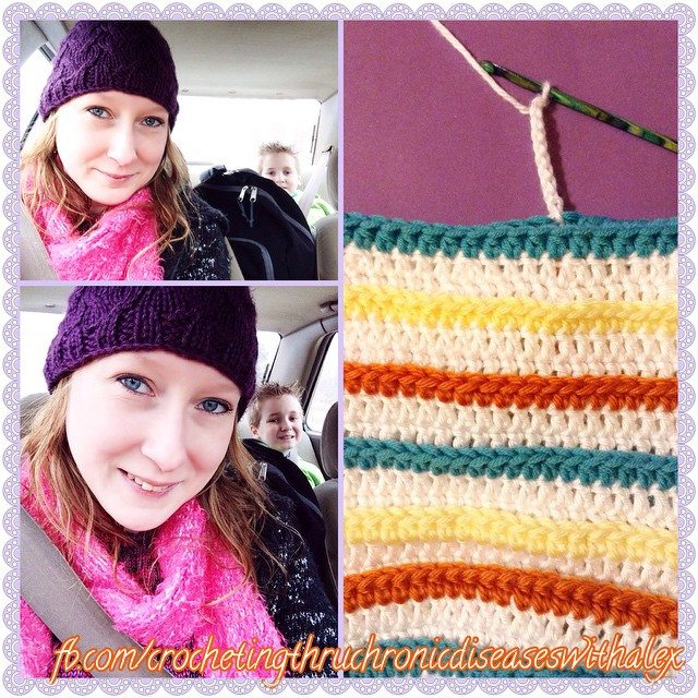 crochetingthruchronicdiseases striped rochet