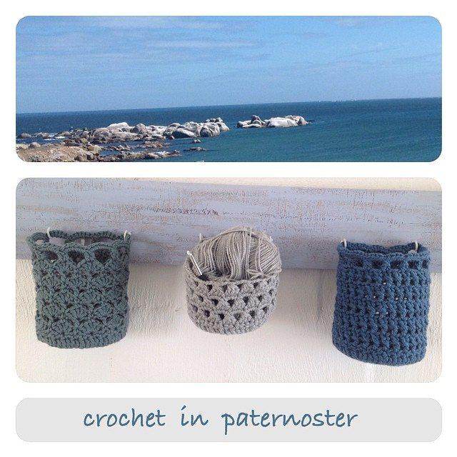 crochetinpaternoster crochet basket