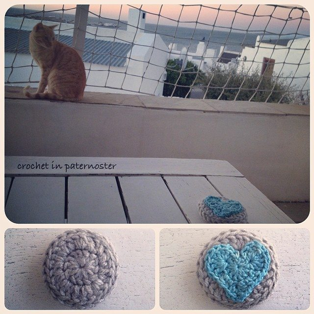 crochetinpaternoster crochet heart
