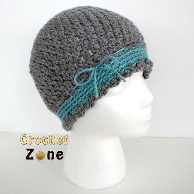 crochetzoneblog crochet hat