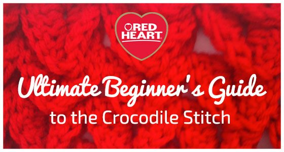 crocodile crochet stitch
