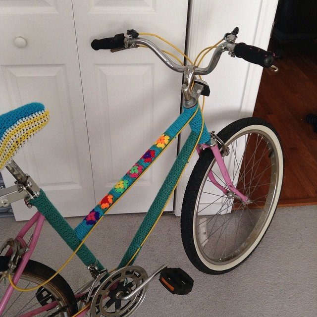cuddelbugkids crochet bike squares