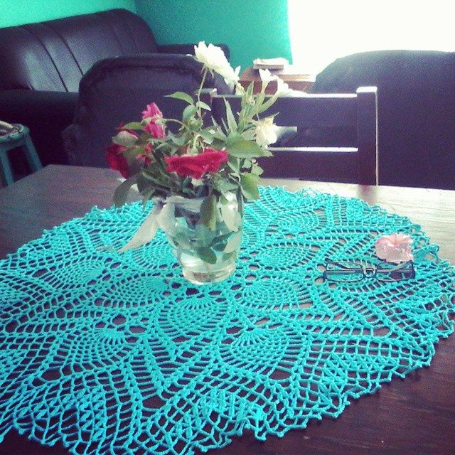 curupisa crochet doily