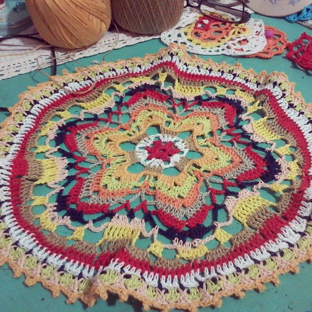 curupisa crochet mandala