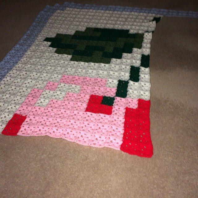 d0nna84 crochet blanket