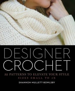designer crochet book