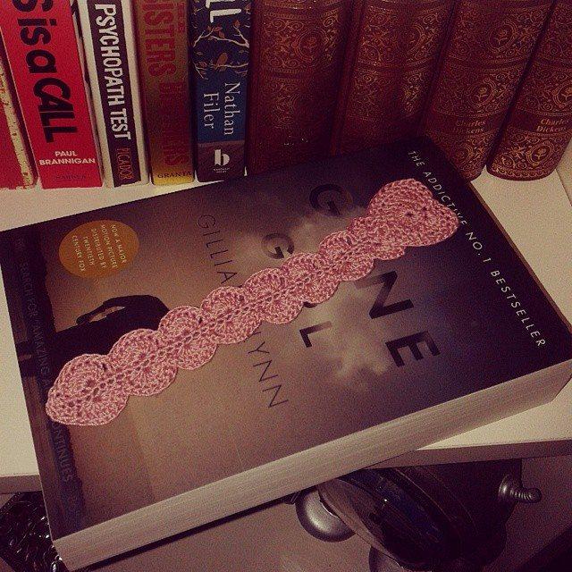 dojocrochet crochet bookmark