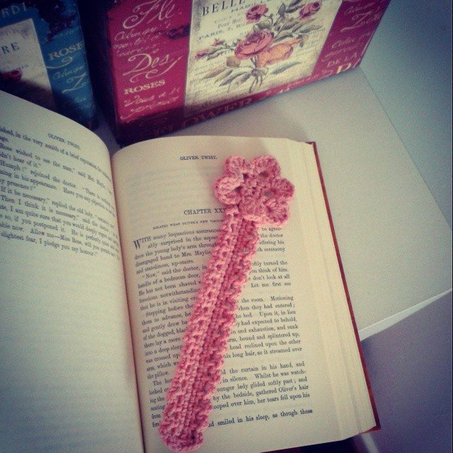 dojocrochet crochet bookmarks