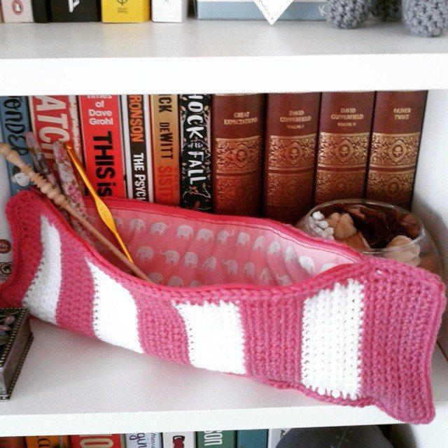 dojocrochet crochet hook bag
