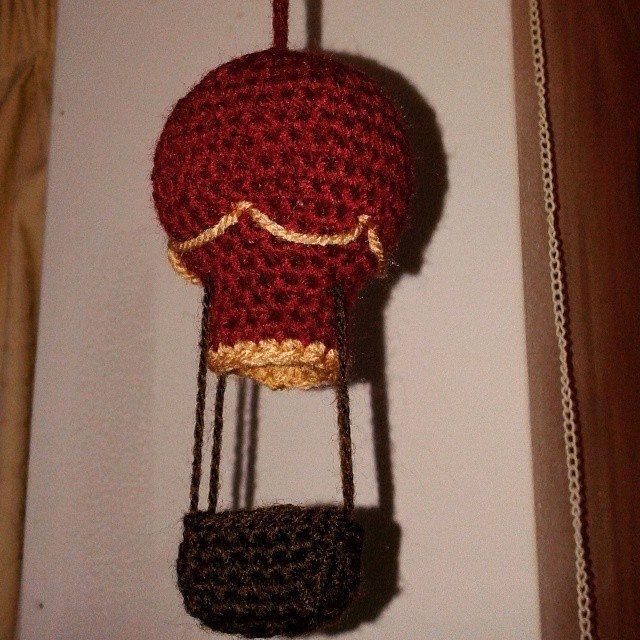 dojorochet crochet hot air balloon