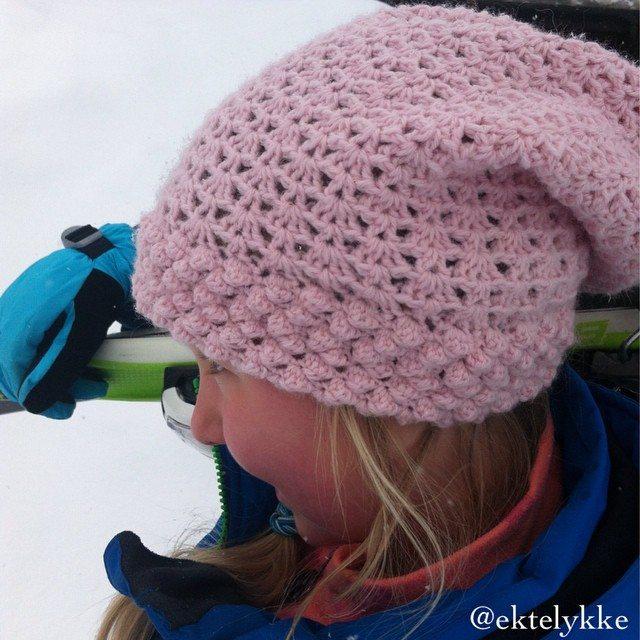 ektelykke crochet hat