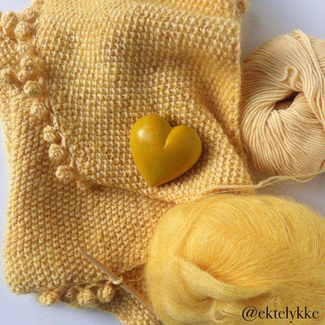 ektelykke crochet knit yellow