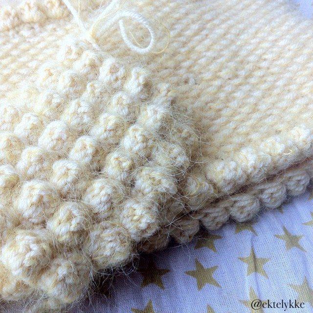 ektelykke crochet puff