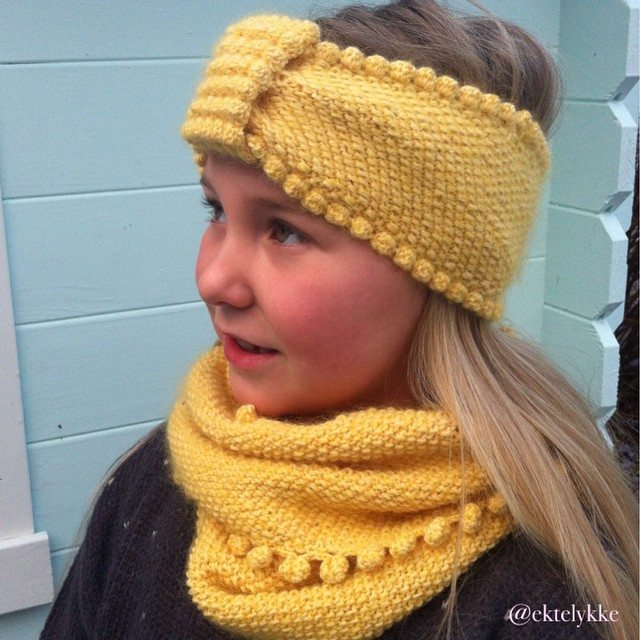 ektelykke crochet yellow