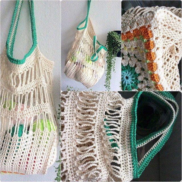 elisabethandree crochet bag