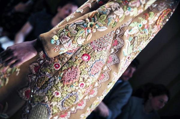embroidery jacket valentino