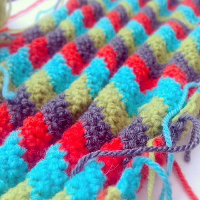 forestflowerdesigns crochet ripple