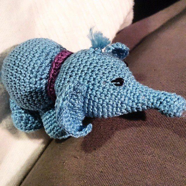 garnkorgen.blogg.se crochet elephant