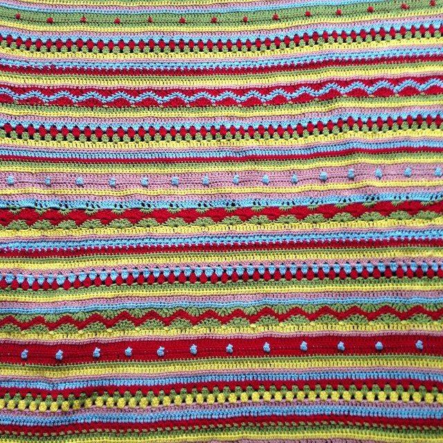 gooseberryfool crochet stripes