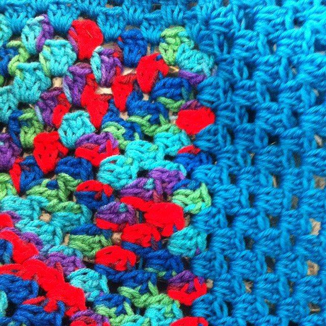 granny square crochet blankets