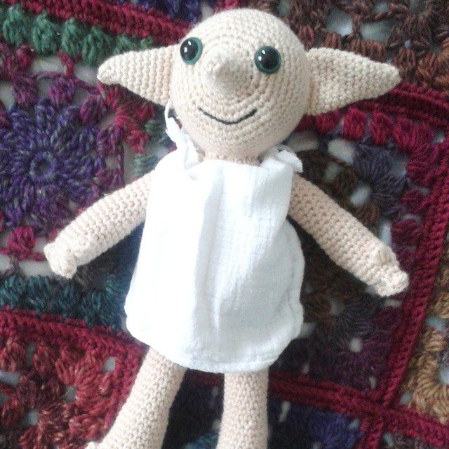 hanrosieg crochet harry potter doll