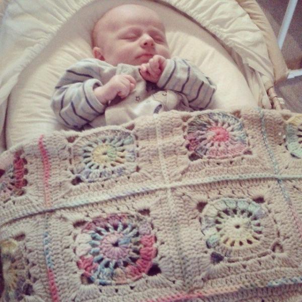 hanrosieg crochet squares blanket