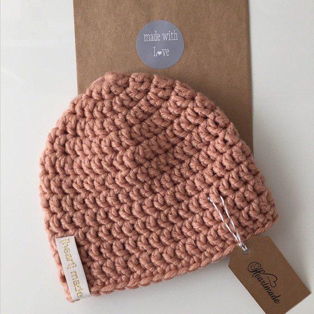heartmadebeanies crochet hat 2
