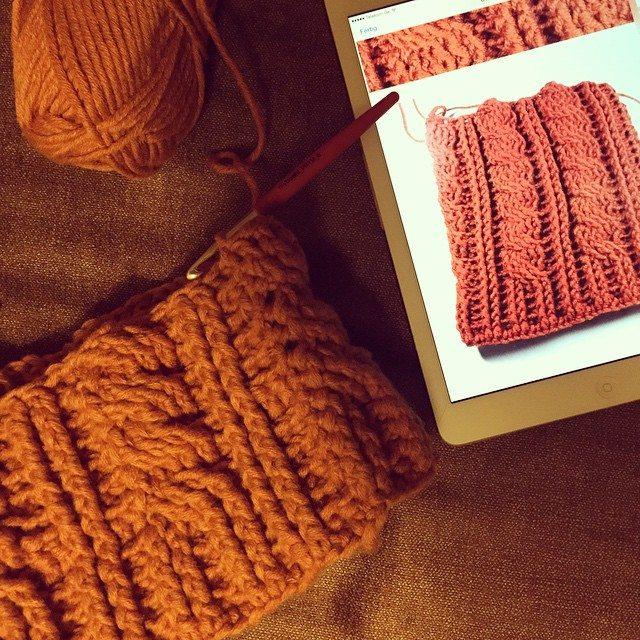 heartmadebeanies crochet hat wip