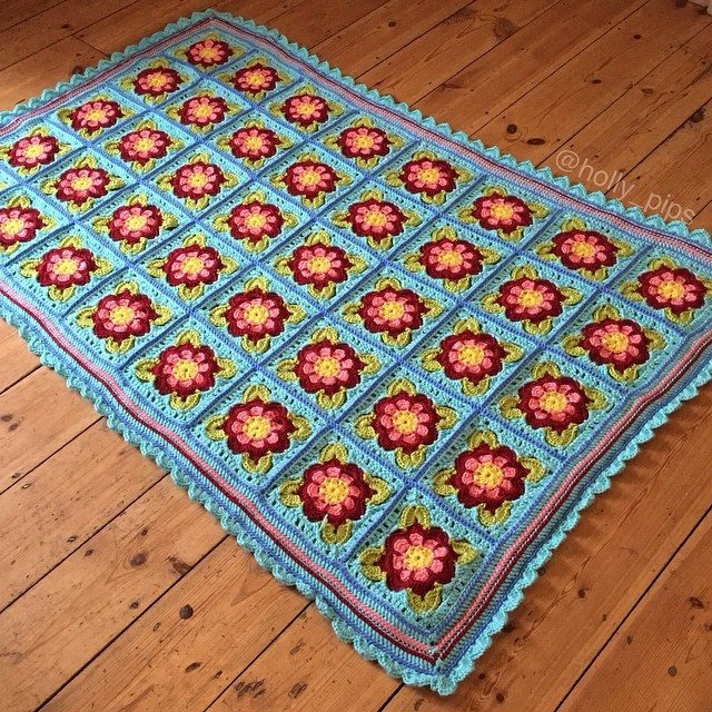 holly_pips crochet blanket squares