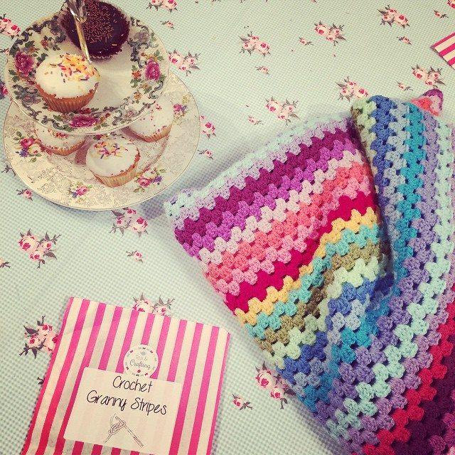 holly_pips crochet granny stripes
