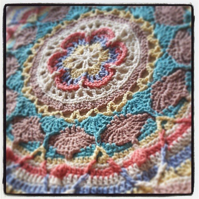 hookybren crochet mandala