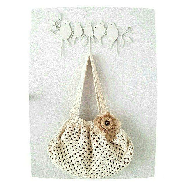 hookybren crochet purse