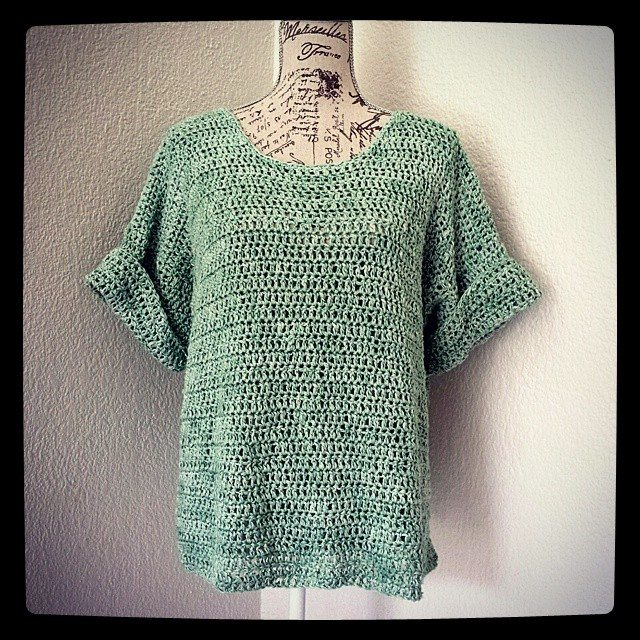 hookybren crochet shirt