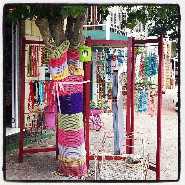 hookybren yarnbomb crochet