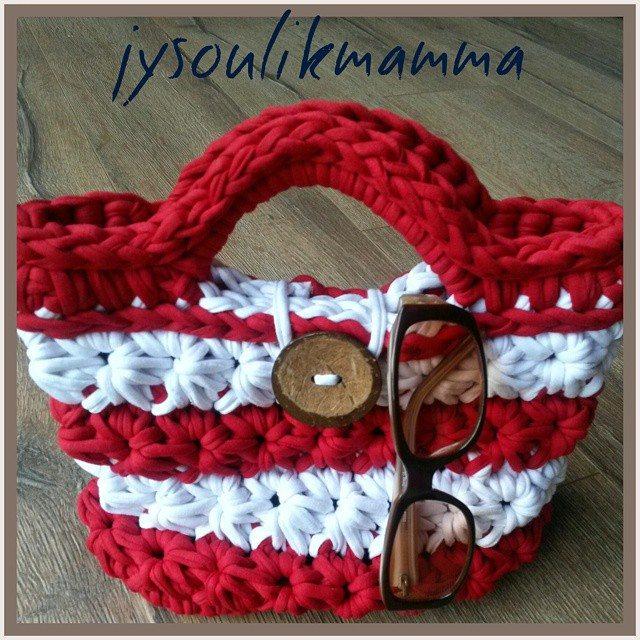 jysoulikmamma_brilliantmommy crochet t-shirt yarn bag 2