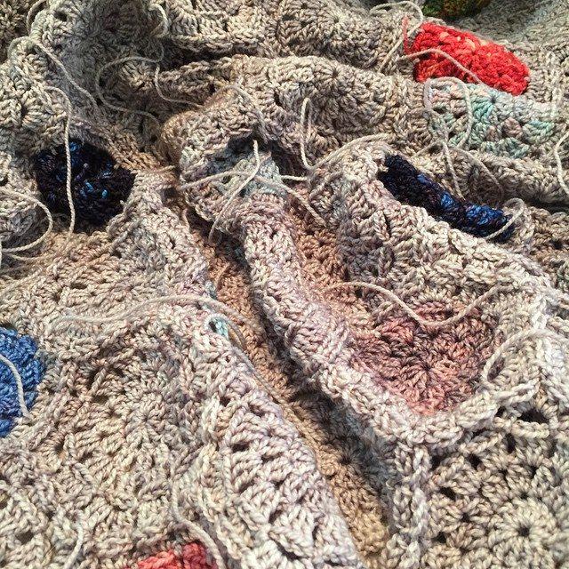 kmdcrochet yarn ends
