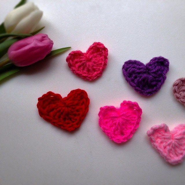kymmber crochet hearts