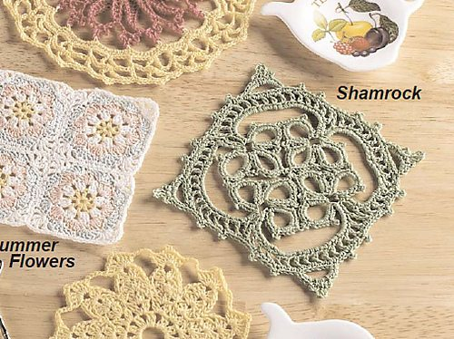 lacy shamrock crochet pattern