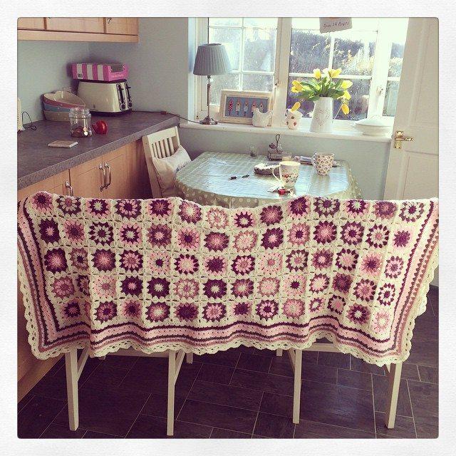 _lara_x crochet granny square blankets
