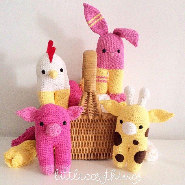littlecosythings crochet animals